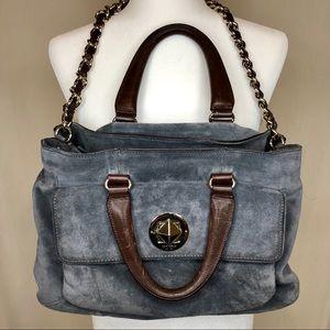 Kate Spade Bag- Blue Suede